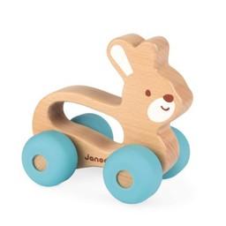 Janod Janod - Jouet à Promener/Pull-Toy, Lapin Babypop/Babypop Bunny