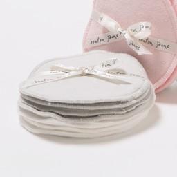 Bouton Jaune Compresses d'Allaitement en Coton Organique de Bouton Jaune/Bouton Jaune Organic Cotton Nursing Pads, Neutre-Gris/Gray-Neutral