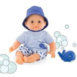 Corolle Corolle - Poupée Mon Premier Bébé Bain/My First Bath Baby Doll, Baleine Bleue/Blue Whale
