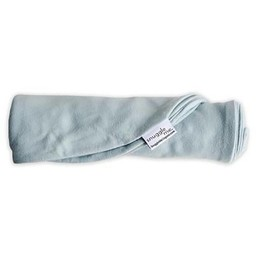 Snuggle Me Organic Snuggle Me Organic - Housse pour Station d'Accueil/Cover for Sensory Lounger, Bleu Clair/Skye