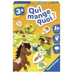 Ravensburger Ravensburger - Jeu Éducatif/Education Game, Qui Mange Quoi?