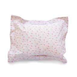 Bouton Jaune Bouton Jaune - Cache-Oreiller 12x16 Pouces/12x16 Inches Pillow Cover, Bande Plate, Fleuri Rose/Pink Floral