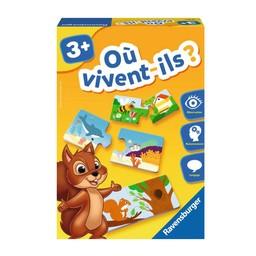 Ravensburger Ravensburger - Jeu Éducatif/Education Game, Où Vivent-Ils?