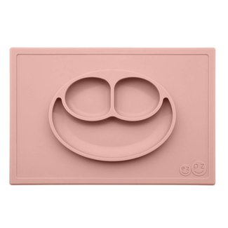 Ezpz EzPz - Happy Mat All-in-one Placemat and Plate, Nordic Blush