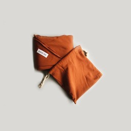 Susukoshi Susukoshi - Cotton Swaddle, Rust