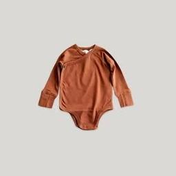 Susukoshi Susukoshi - Kimono Bodysuit, Rust