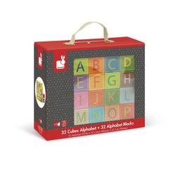 Janod Janod - Cubes de l'Alphabet