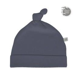 Perlimpinpin Perlimpinpin - Bonnet à Noeud en Bambou/Bamboo Knotted Hat, Marine/Navy