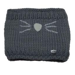Calikids Calikids - Knit Cat Neckwarmer, Grey