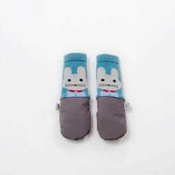 MimiTENS MimiTens - All Weather Mittens, Grey Bunny