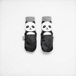 MimiTENS MimiTens - All Weather Mittens, Black Panda