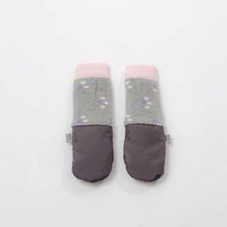 MimiTENS MimiTens - All Weather Mittens, Grey Hearts