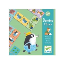 Djeco Djeco - Jeu de Stratégie/Strategy Game, Domino Animaux
