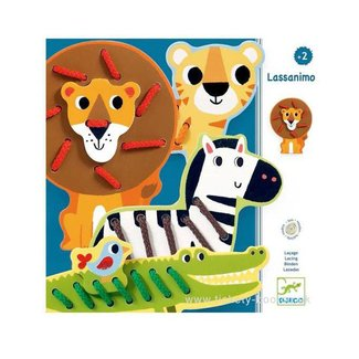 Djeco Djeco - Laçage, Lassanimo/Lassanimo, Lacing