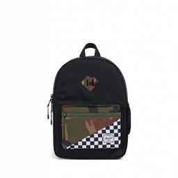 Herschel Herschel - Heritage Backpack Youth, Black Checkers Camo