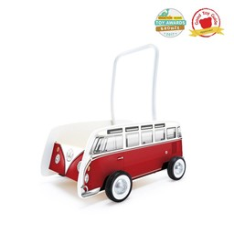 Hape Hape - Classic Bus Walker, Red