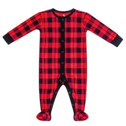 Petit Lem Petit Lem - Pyjama en Tricot, Rouge