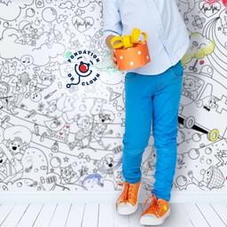 Rue Tabaga Rue Tabaga - Giant Coloring Poster Dr Clown