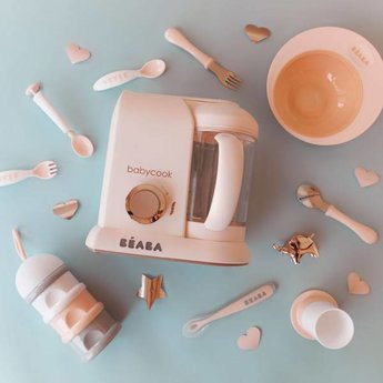 Béaba Beaba - Formula and Snack Container, Blush
