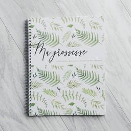 Moments ancrés Moments Ancrés - Pregnancy Journal, Green Leaves