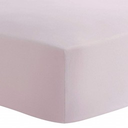 Kushies Kushies -  Fitted Crib Sheet, Light Pink