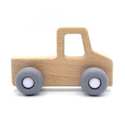 Pois et Moi Pois et Moi - Voiturette Pick-up/Toys Car Pick-up, Gris/Grey
