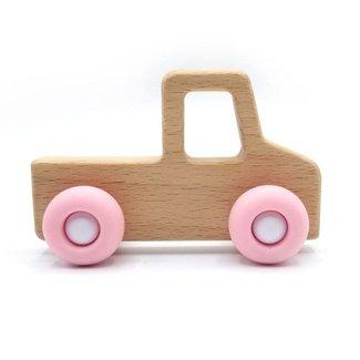Pois et Moi Pois et Moi - Toys Car Pick-up, Quartz Pink