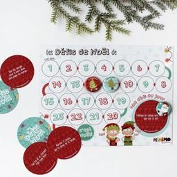 Minimo Minimo - Calendrier de l'Avent, Mes Défis de Noël