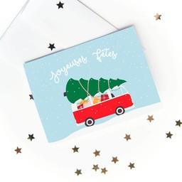 Émilie Hébert - Greeting Card, Joyeuses Fêtes