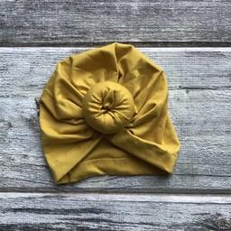 Mini Bretzel Mini Bretzel - Baby Turban, Yellow