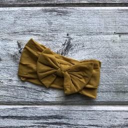 Mini Bretzel Mini Bretzel - Peony Headband, Yellow