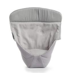 Ergobaby Ergobaby Cool Air - Insertion pour Nouveau-Né, Nouveau Design/Infant Insert, NEW Design Gris Filet/Grey Mesh