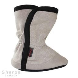 Sherpa Sherpa - Pantoufles pour Bébé Dakota/Dakota Baby Slippers, Sable Brillant/Sparkling Sand