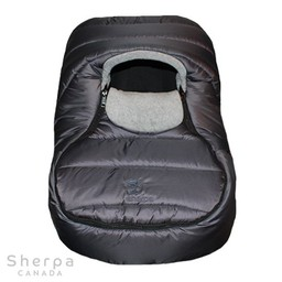 Sherpa Sherpa - Urban Wigwam Baby Car Shell, Grey