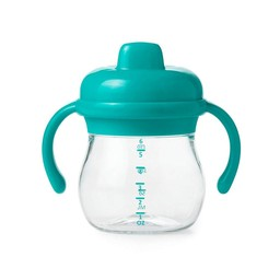 OXO OXO - Gobelet de Transition à Poignée/Transition Sippy Cup with Handles, Sarcelle/Teal