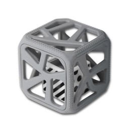 Munch Mitt Chew Cube - Cube de Dentition/Theething Cube, Gris/Grey