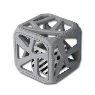 Munch Mitt Chew Cube - Cube de Dentition/Theething Cube, Gris/Grey