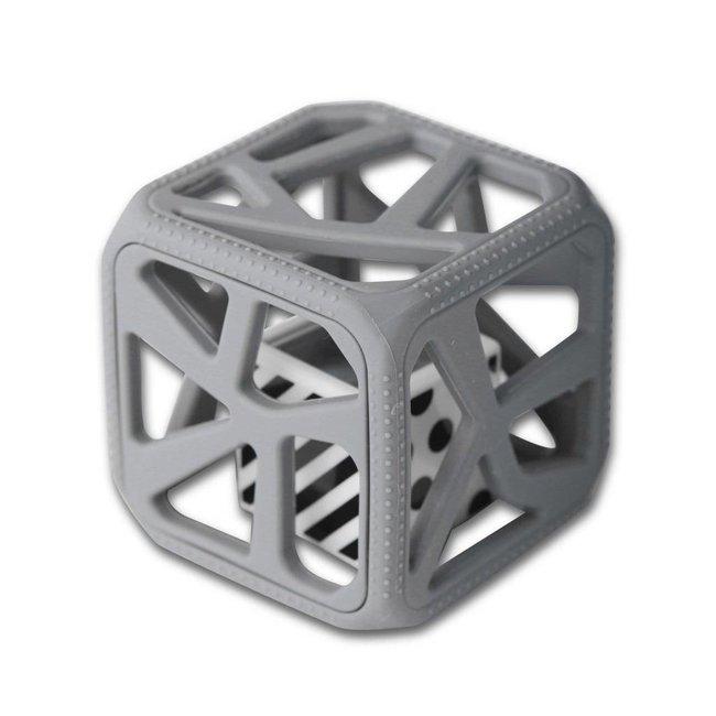 Munch Mitt Chew Cube - Theething Cube, Grey