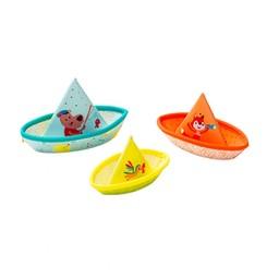 Lilliputiens Lilliputiens - 3 Petits Bateaux Flottants