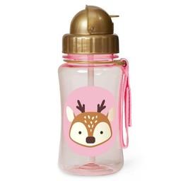 Skip Hop Skip Hop - Bouteille Avec Paille Zoo/Zoo Straw Bottle, Cerf/Deer