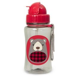 Skip Hop Skip Hop - Bouteille Avec Paille Zoo/Zoo Straw Bottle, Ours/Bear