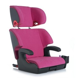 Clek DEMO SALE - Clek OOBR - Siège d'appoint avec Dossier, Tissu Crypton/Clek OOBR Fullback Booster Seat, Crypton Fabric Flamingo (Rose/Pink) Taille Unique/One Size