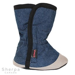 Sherpa Sherpa - Pantoufles pour Bébé Dakota/Dakota Baby Slippers, Jeans Foncé/Dark Jeans