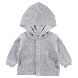 Fixoni Fixoni - Grey Cardigan with Hood