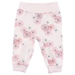 Fixoni Fixoni - Pantalon Rose Fleurs