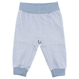 Fixoni Fixoni - Pantalon Bleu Motifs