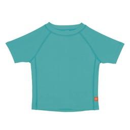 Lassig Lässig - Chandail de Piscine Manches Courtes/Short Sleeve Rashguard, Bleu Lagoon/Blue Lagoon