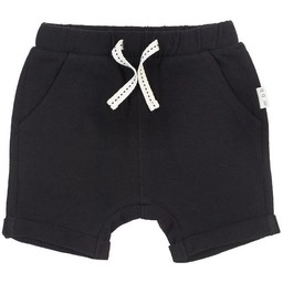 Miles Baby - Knitted Shorts, Black