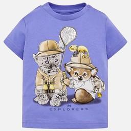 Mayoral Mayoral - T-Shirt The Explorers, Lavande