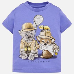Mayoral Mayoral - The Explorers T-Shirt, Lavender